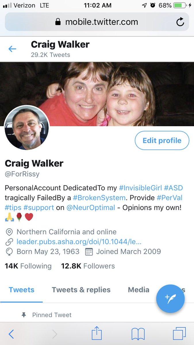 Craig Walker, Sonia Walker, Marissa Walker