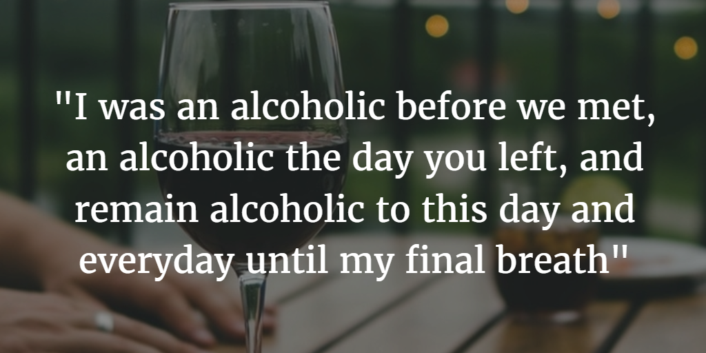 An open letter to my Ex after I got Sober