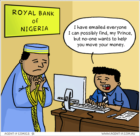 Nigerian Prince Cartoon